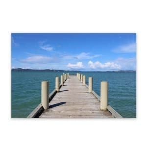 Magazine Bay Wharf Metal Wall Art Outdoor Garden Fence Panel